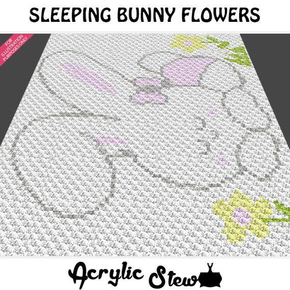 Baby Graphgan Pattern - Corner to Corner - C2C Crochet - Cute White ...