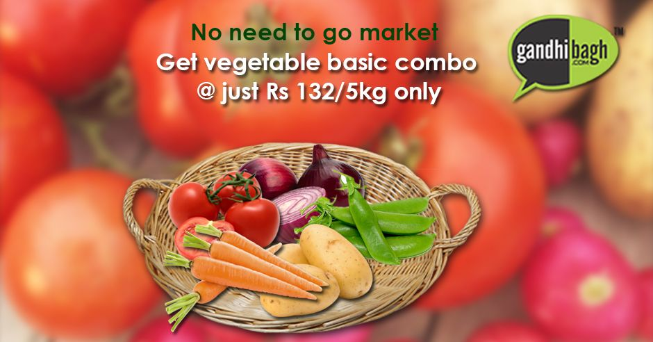 Buy top quality ‪#‎Fresh‬ ‪#‎Vegetable‬ Online only at Gandhibagh.com ‪#‎onlineshopping‬ ‪#‎onlinestore‬ ‪#‎gandhibagh‬ ‪#‎Nagpur‬  Learn More : http://goo.gl/uY9RU9
