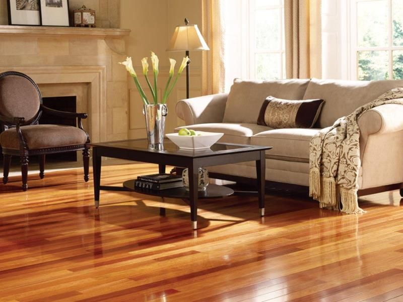 25 Stunning Living Rooms With Hardwood Floors Living Room