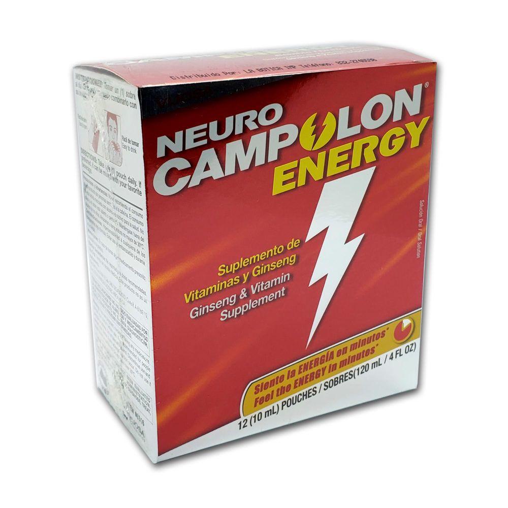 Neurocampolon Energy Suplemento Vitaminico Con Ginseng Neuro Campolon Price 15 90 Free Shipping Hashtag3 Vitamin B Complex Vitamins Asian Ginseng