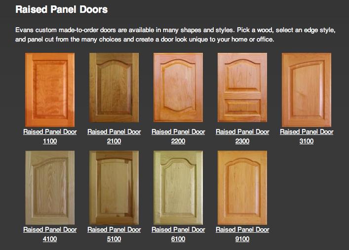 raised panel cabinet door styles. Donna\u0027s Blog: Cabinet Door Styles | Raised Panel Doors By Evans R