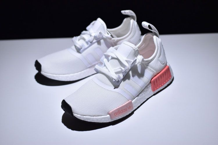 premium selection 8425f d41f6 New adidas nmd r1 w pk runner ultra boost women s running shoes white pink
