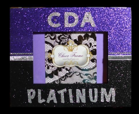 Personalized Cheer Frame | Cheer Frames | Crafts | Pinterest ...