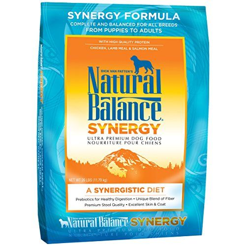 Natural Balance Synergy Ultra Premium Formula Dry Dog Food 26pound