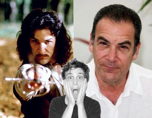 Oh my God. My mind is blown. Inigo Montoya is Jason Gideon is Mandy Patinkin. ^ I actually knew this, but the picture is to cute not to pin.