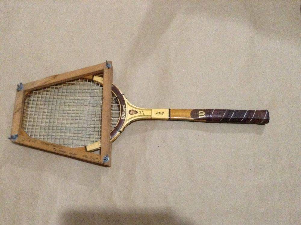 Wilson Pro Staff Wood Tennis Racket Jack Kramer Vintage Racquet #Wilson