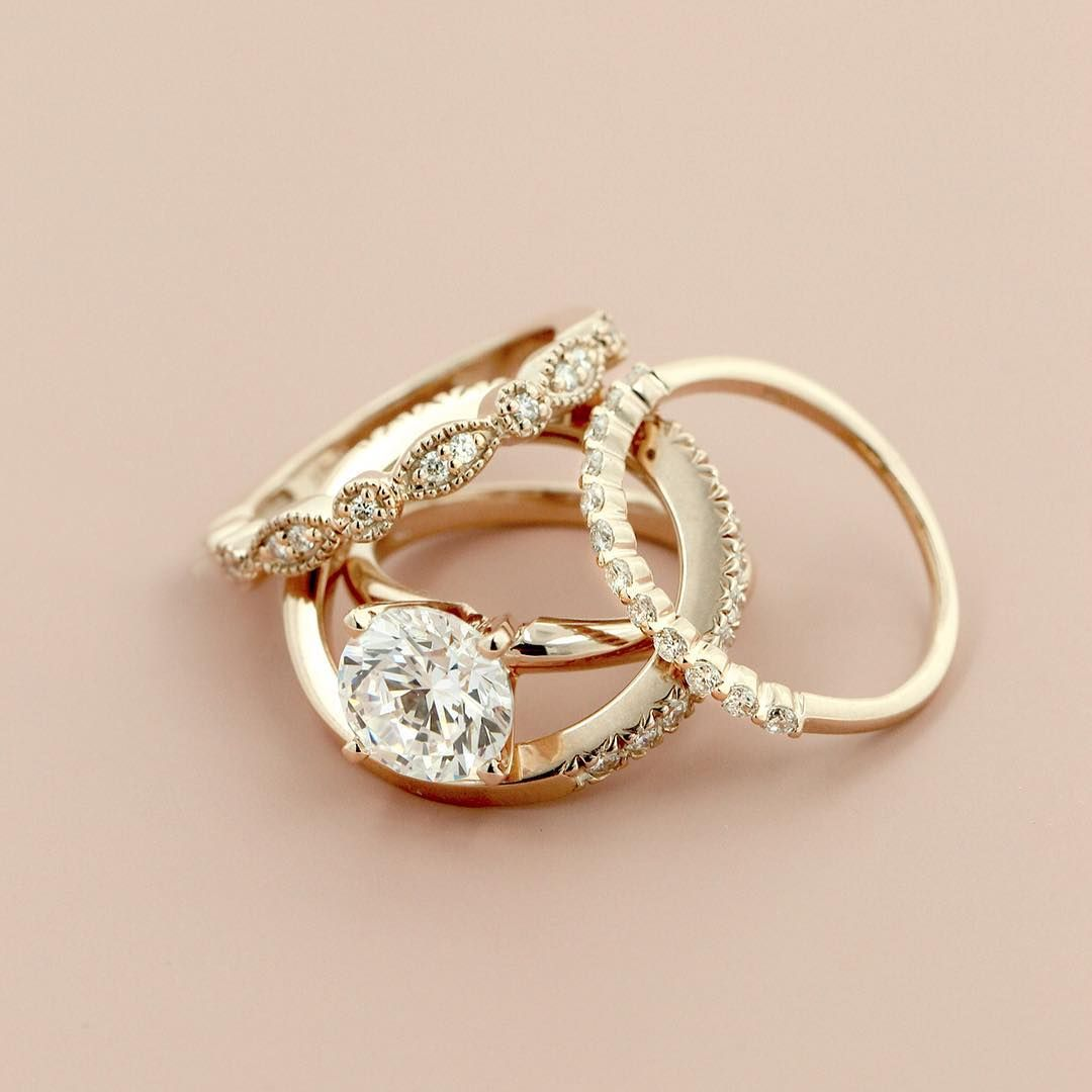 Traditional Solitaire Engagement Ring | Solitaire engagement, Gold ...