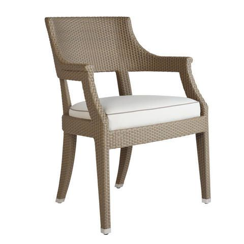 David Sutherland Furniture   Melina Woven Dining Arm Chair