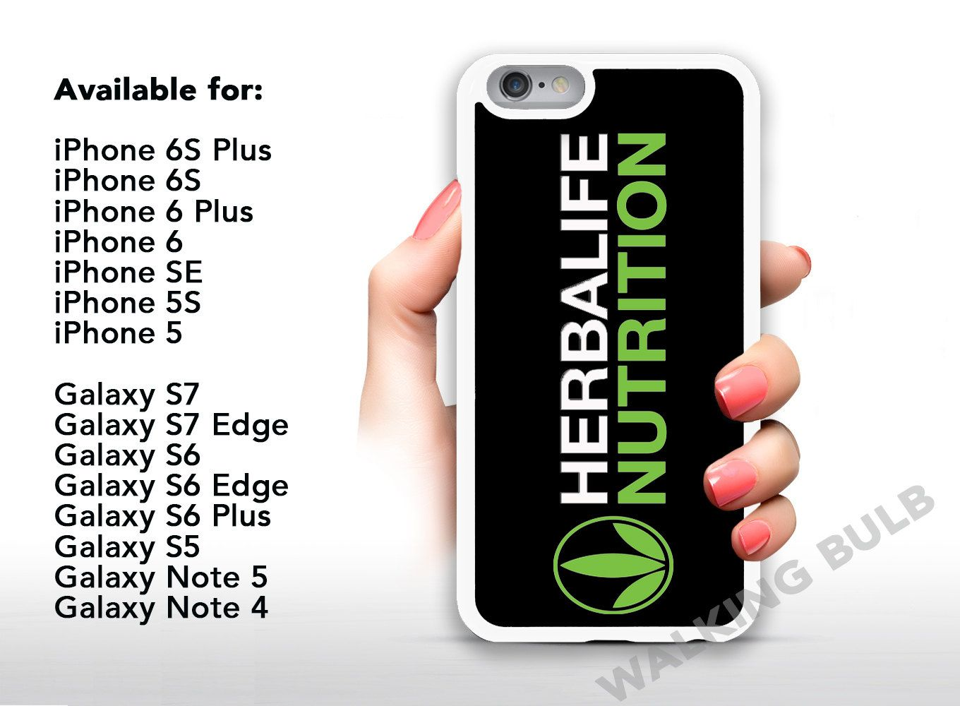 Herbalife Nutrition iPhone / Samsung Galaxy Silicone Case