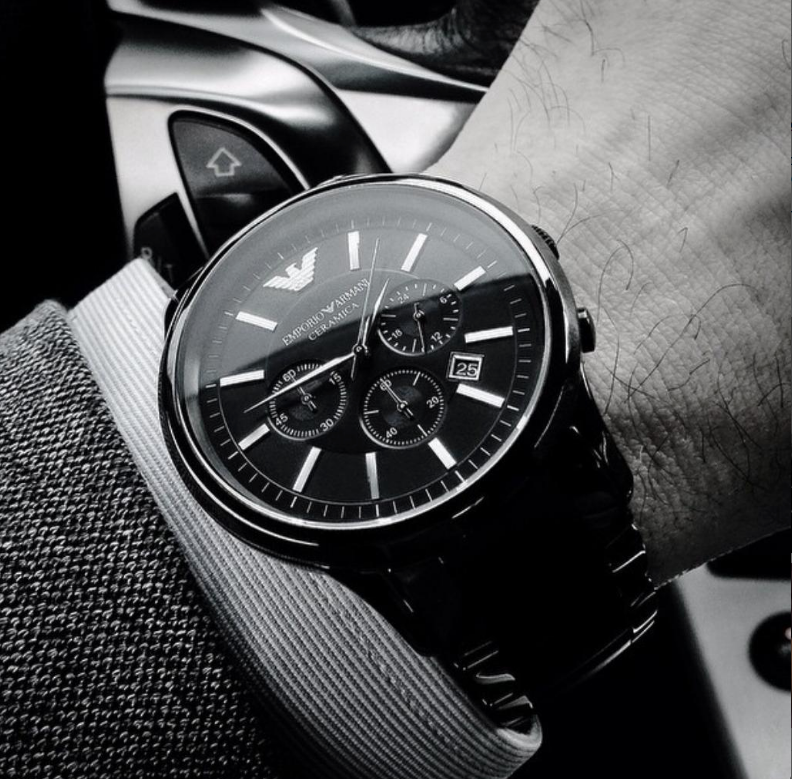 timeless armani watches
