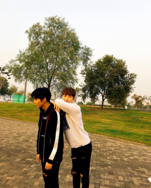 JR and Minhyun - Nu'est