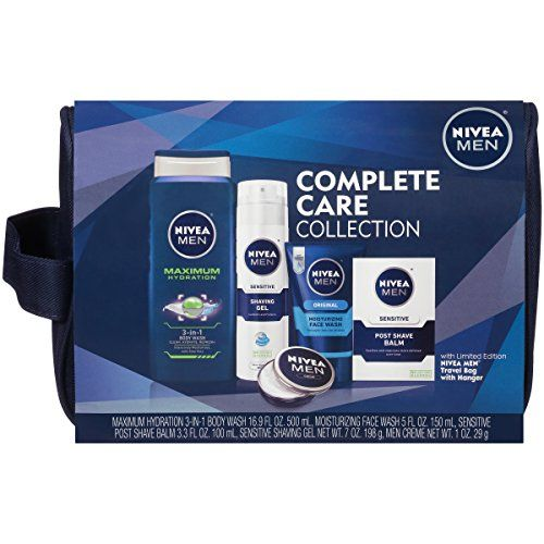 Nivea For Men 5 Piece Complete Care Plus Dopp Bag Gift Set Details Can Be Found By Clicking On The Image Dopp Bag Best Shaver For Men Mens Skin Care