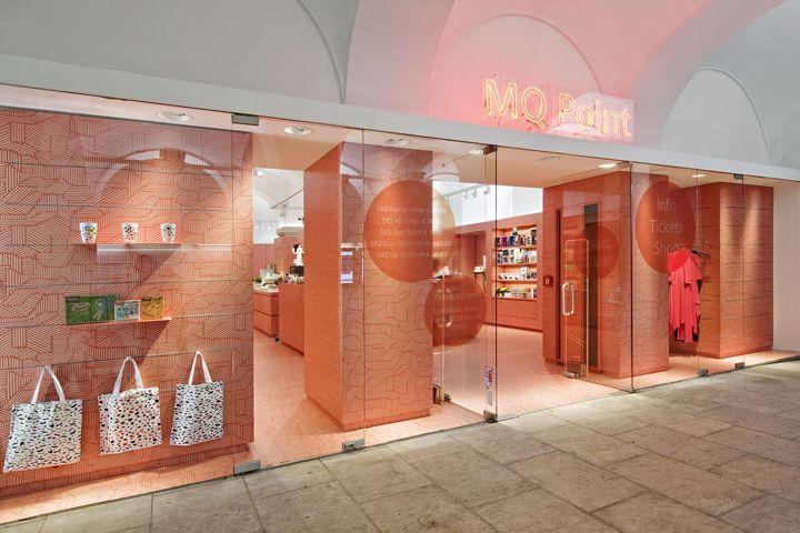 MQ Point store by BEHF Architects, Vienna – Austria