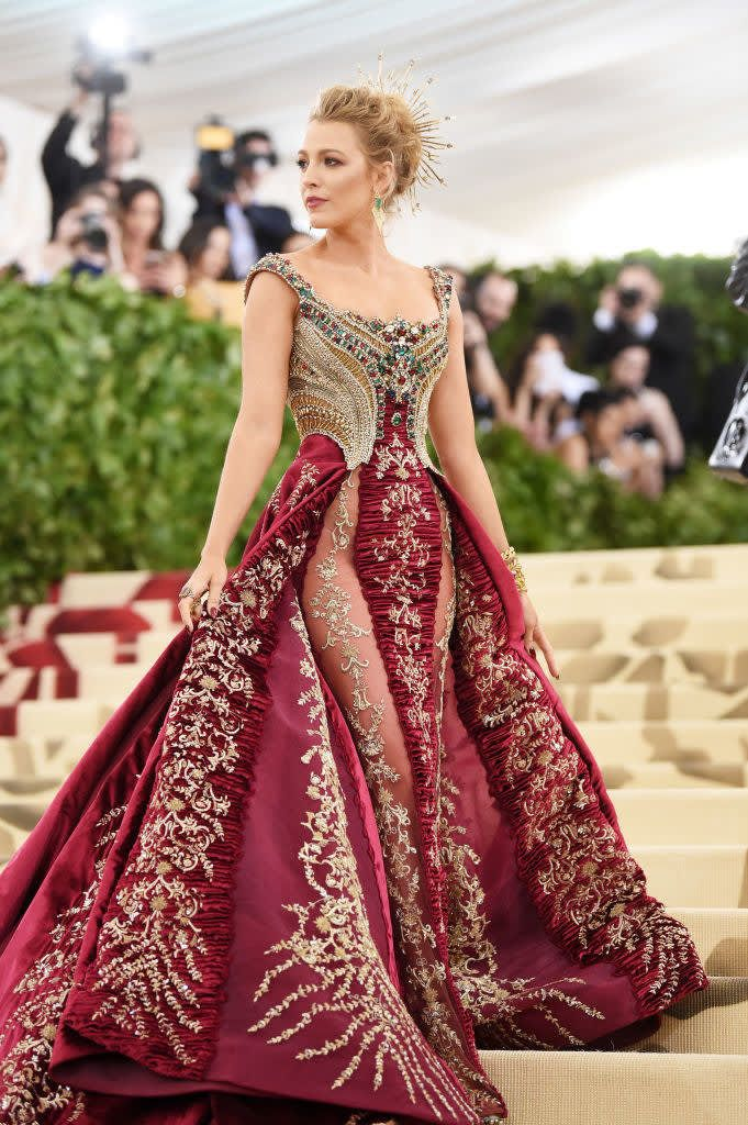 Photo of Blake Lively's Killer Met Gala Dress Took Over 600 Hours To Make