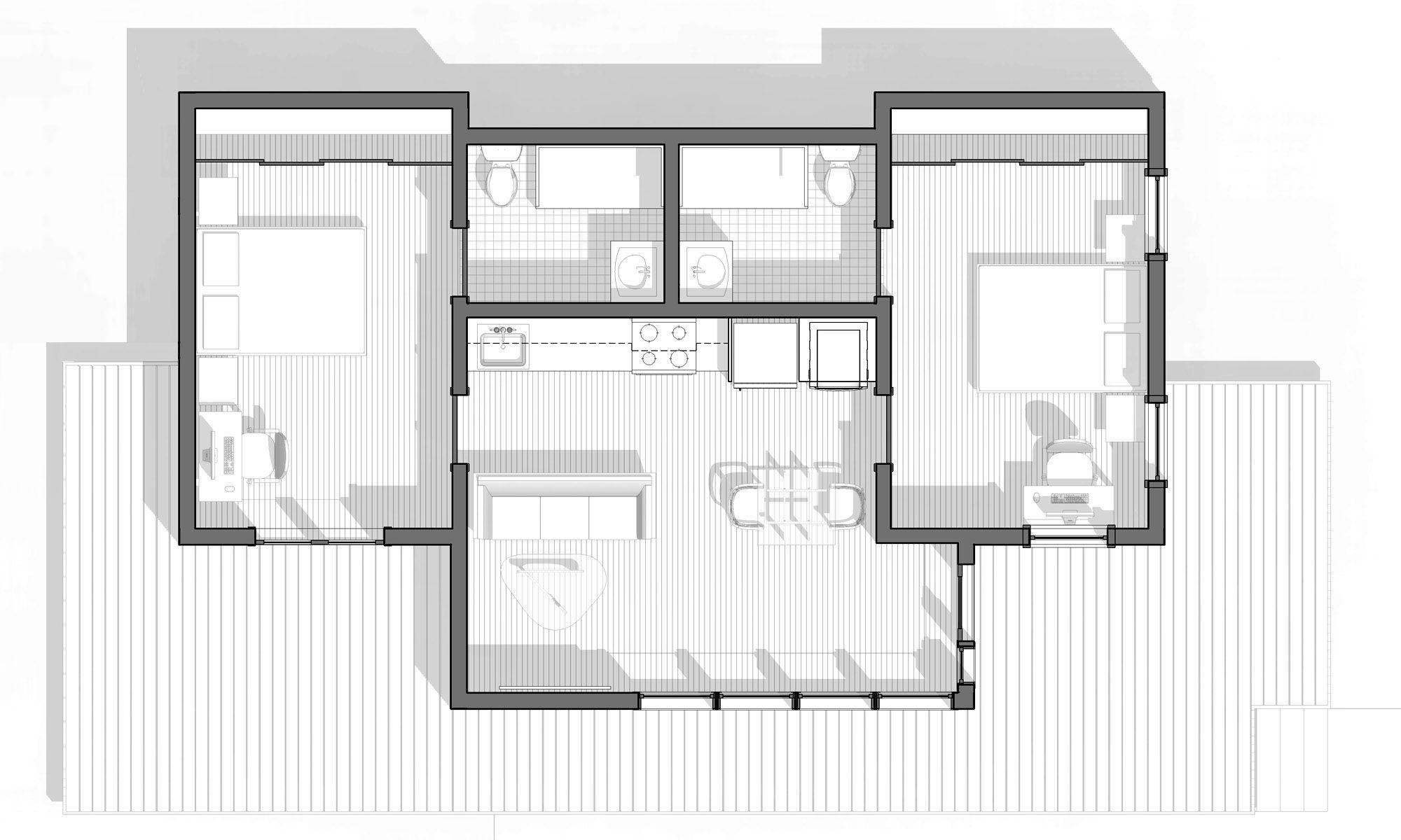 Portland ADU Accessory Dwelling Unit by Propel Studio