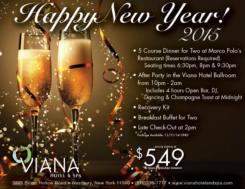 Ring In 2015 At The Viana Hotel Spa Breakfast Buffet Restaurant Reservations Hotel Spa