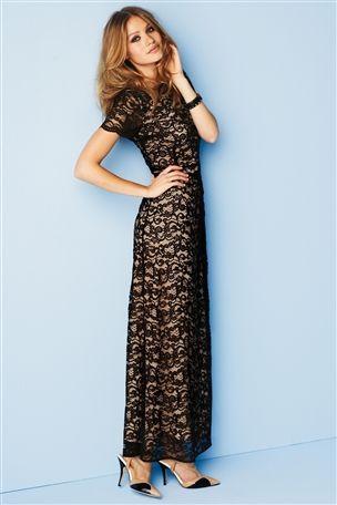 Blue lace dress next