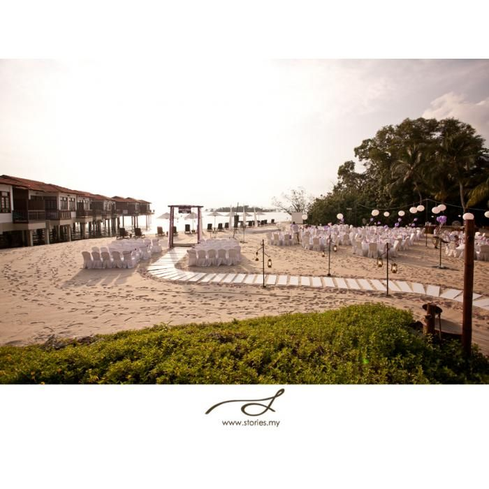 Wedding Venues : Avilion Legacy Melaka #Beach #Reception