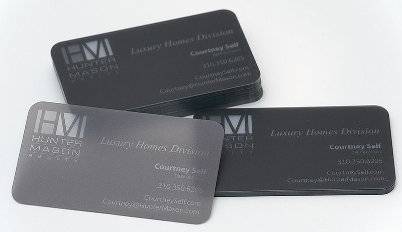 20pt frosted plastic business cards with 14 round corners 20pt frosted plastic business cards with 14 round corners designed and printed colourmoves
