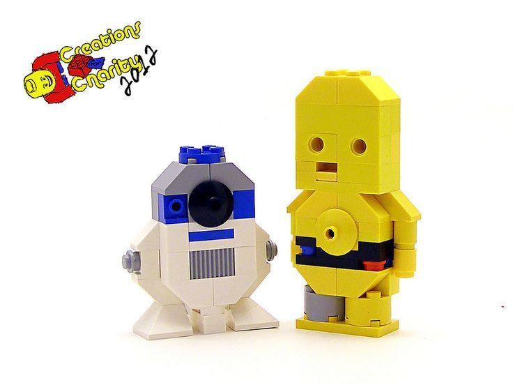 8 Stunning Micro LEGO Star Wars Characters - Micro lego, Lego star wars, Lego - 웹