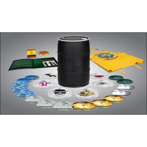 Breaking Bad: The Complete Series [16 Discs] (Blu-ray Disc)