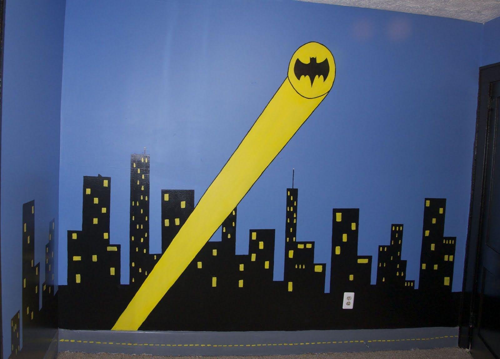 Batman bedroom paint ideas - Creative Eyedias Sleeping In Gotham City A Batman Bedroom