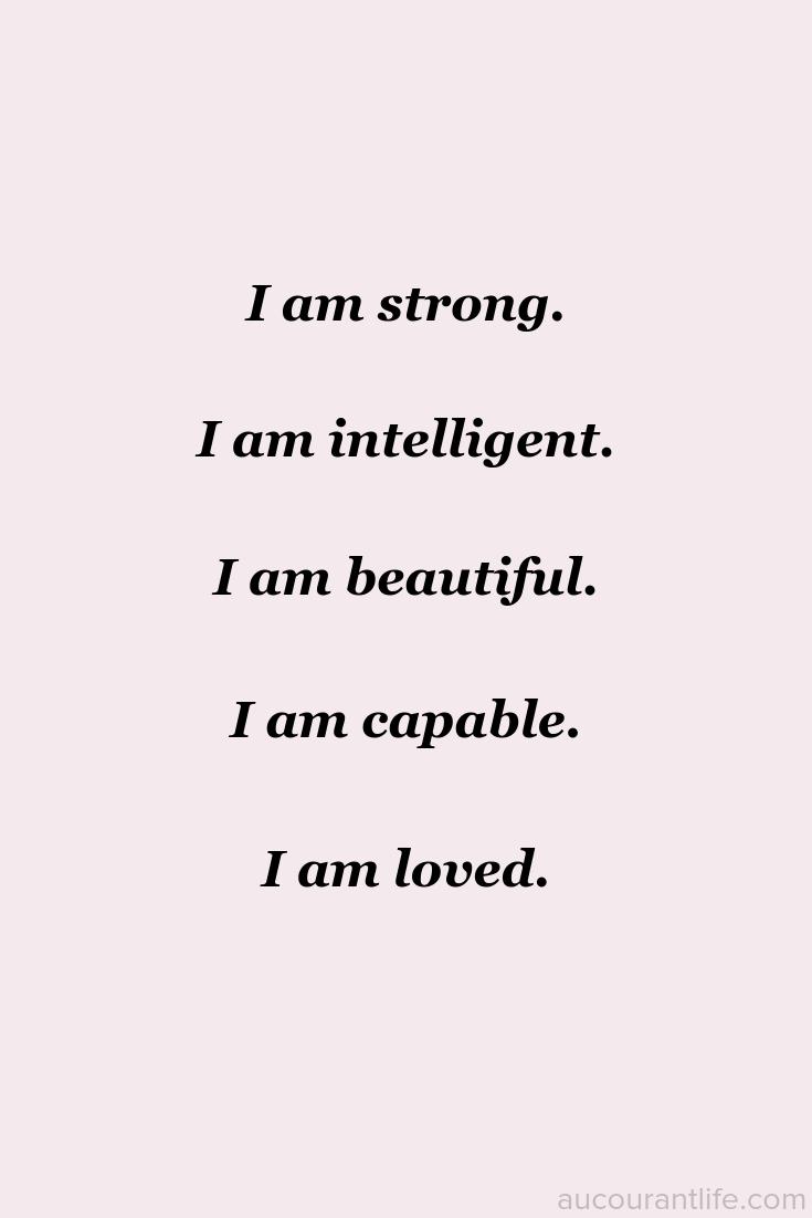 I Am Strong Affirmation Positive Affirmations Quotes Positive Self Affirmations I Am Strong Quotes