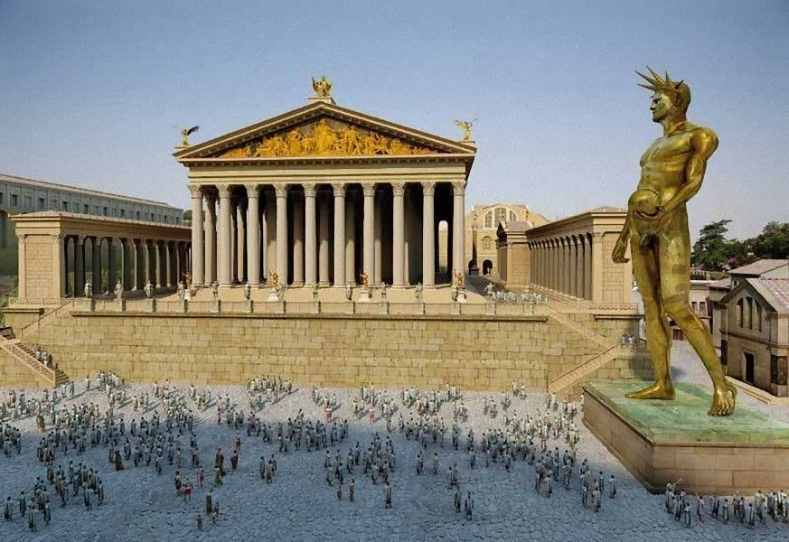 The Colossus Of Nero Colossus Neronis Was A 30 Metre 98