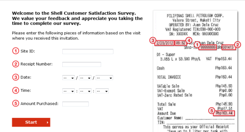 Shell Customer Satisfaction Survey WwwShellComPh