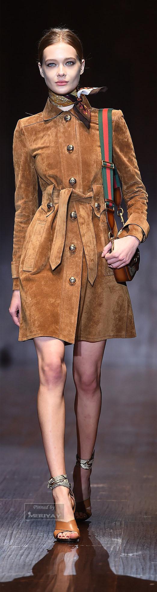 Maria Grazia Di Marcello liked, Loredana Montanino liked:Gucci.Spring-summer 2015.