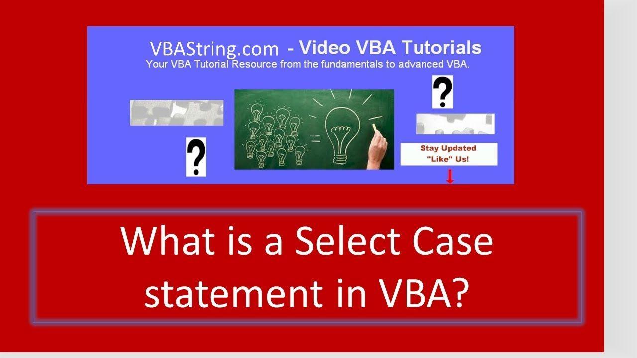 VBAString Tip 2: Excel VBA Msgbox Yes No | Visual Basic For