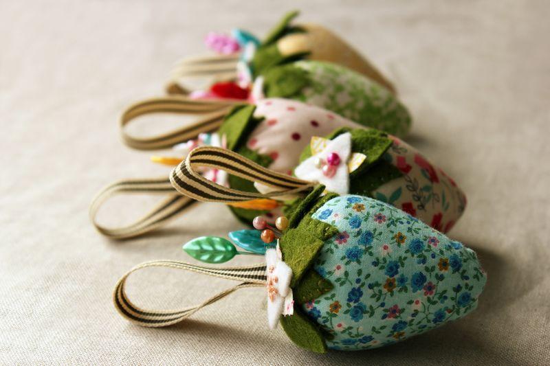 Erdbeere kissenf rmige s 0963pp handarbeit nadelkissen n hen und patchwork ideen - Patchwork ideen ...