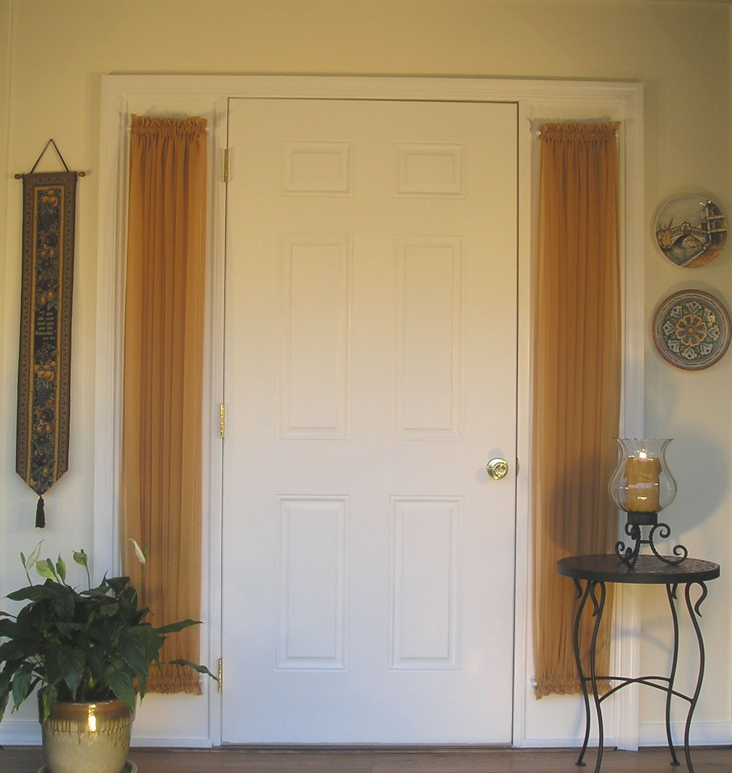 Exceptionnel Door Window Curtains Small   Did You Realize That The Ideal Window Drapes  Can Change The Mood Of A Dark Area, Accent Your Perspective Both Inside And  Out A