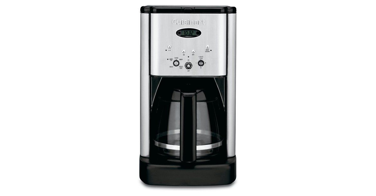 Introducing An Evolutionary New Look In Coffeemakers The Cuisinart Brew Central Cof Stainless Steel Coffee Maker Best Drip Coffee Maker Cuisinart Coffee Maker
