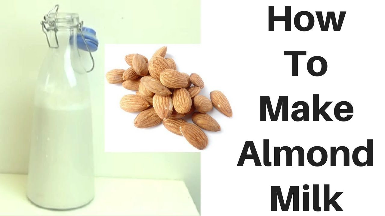 how to blanch almonds for almond milk