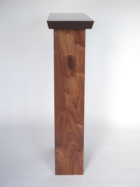 At Only 9 Deep This Solid Walnut Entry Table Makes A Statement In Small E Narrow Handmade Wood For The Entryway Or Hall