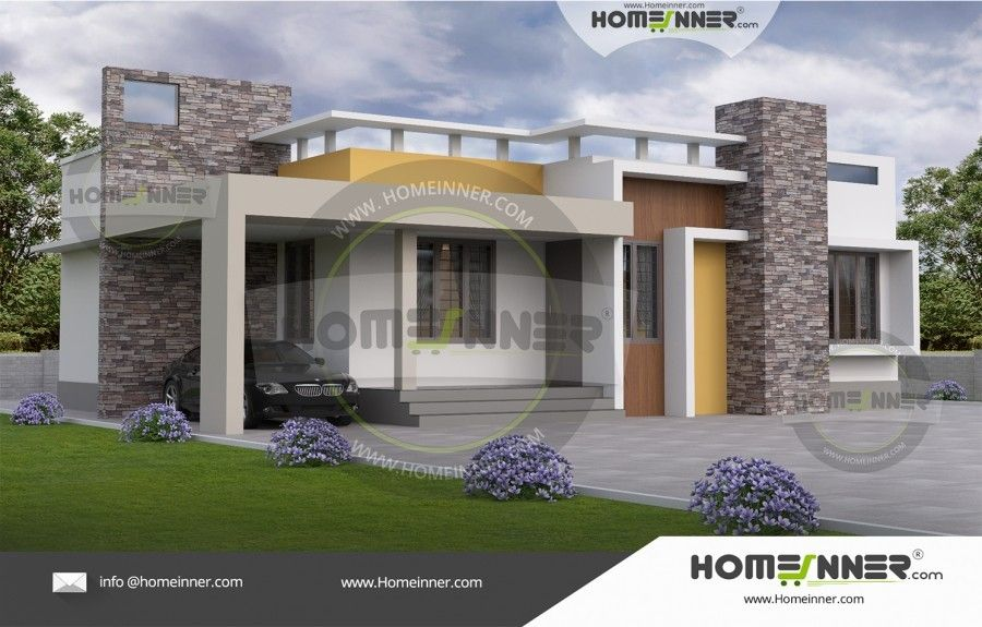 1000 Sq Ft 3 Bedroom Small Home Design Cool House Designs Kerala House Design Small Home Plan