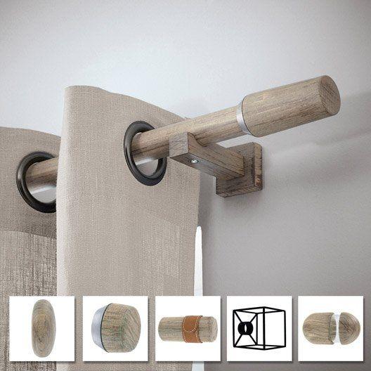 tringle a rideau a composer inspire archi design d28 oak. Black Bedroom Furniture Sets. Home Design Ideas