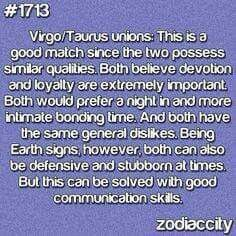 Compatibility of virgo and taurus