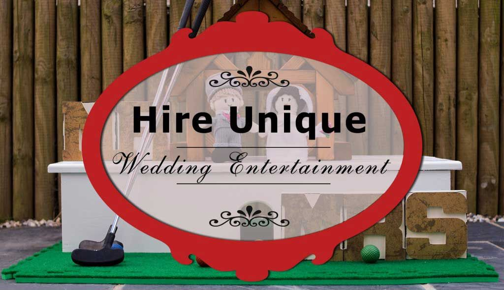 Entertain Your Guests And Make It A Memorable Day With Our Fun Wedding Entertainment Ideas Hire Mobile Crazy Golf Courses For Indoor Outdoor Weddings