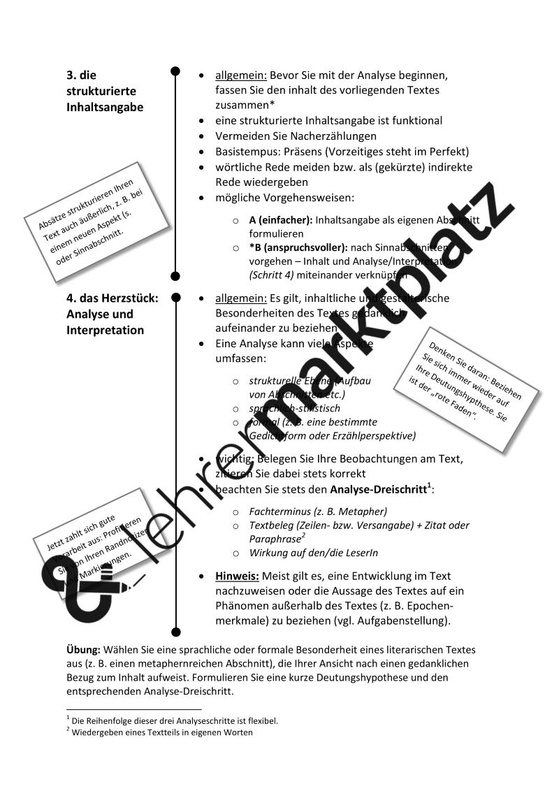 Analyse Und Interpretation Leitfaden Fur Alle Literarischen Texte Kurzgeschichte Gedicht Etc Formulierungshilfen Unterrichtsmaterial Im Fach Deutsch Lernen Formulierungshilfen Kurzgeschichten