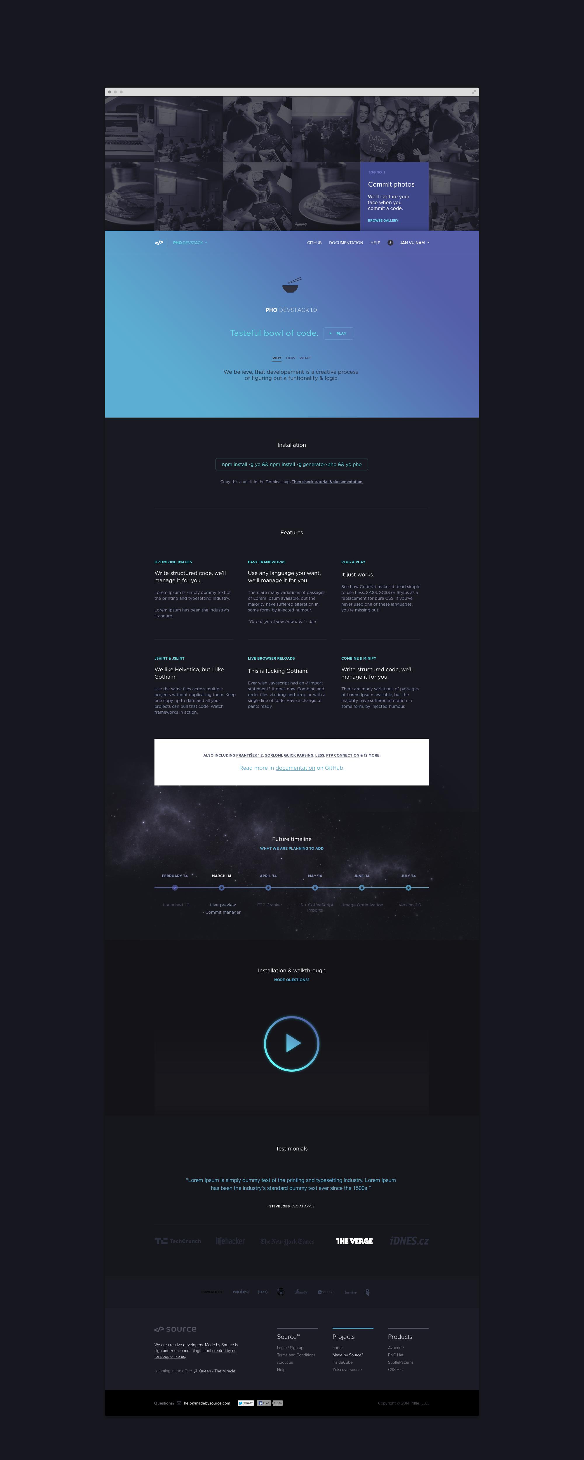 Pho Devstack by Jan Vu Nam for abdoc   Mobile, Web Design, UI & UX ...