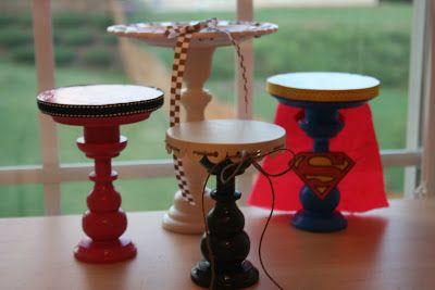 Cupcake Stand Tutorial