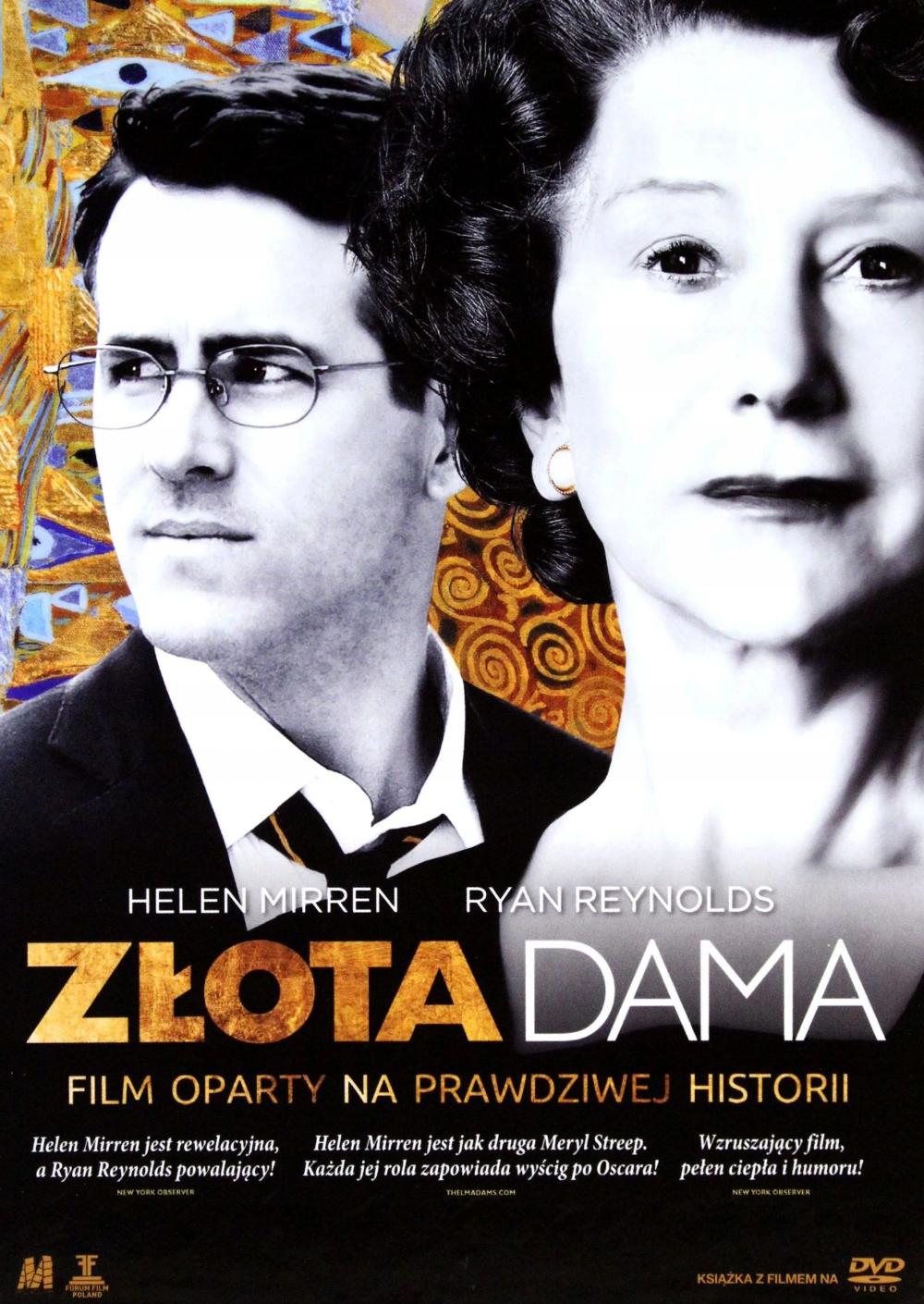 Zlota Dama Helen Mirren Dvd 8288557322 Oficjalne Archiwum Allegro Woman In Gold Helen Mirren Film