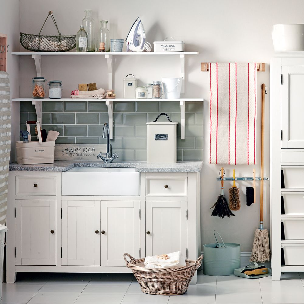 Kitchen And Utility Room Design Ideas: Give Your Utility Room A Scullery Chic Makeover