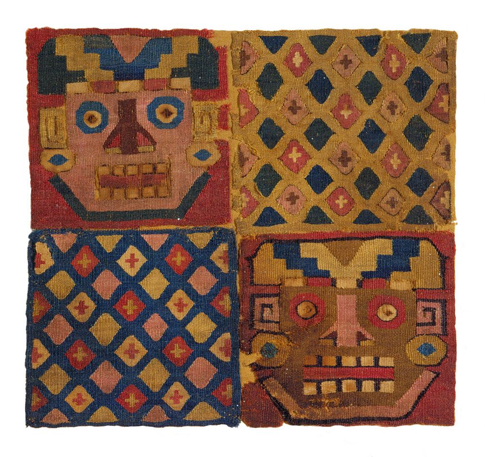 Textile Museum Fragments Peru Ca. 800-950 Tm