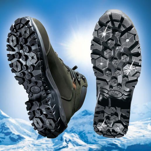 Meindl Spikes Boots The Winter Boot With Retractable Spikes Perfect Traction In Ice And Snow Stiefel Winterstiefel Wanderstiefel