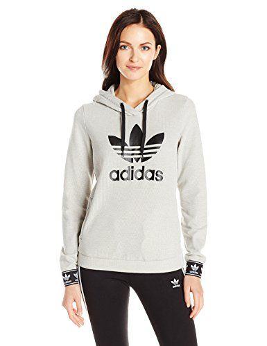 ac3c7f4baea6b Women's Athletic Hoodies - adidas Originals Womens Slim Hoodie ...
