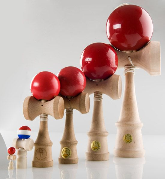 5k kendama red all cracked up