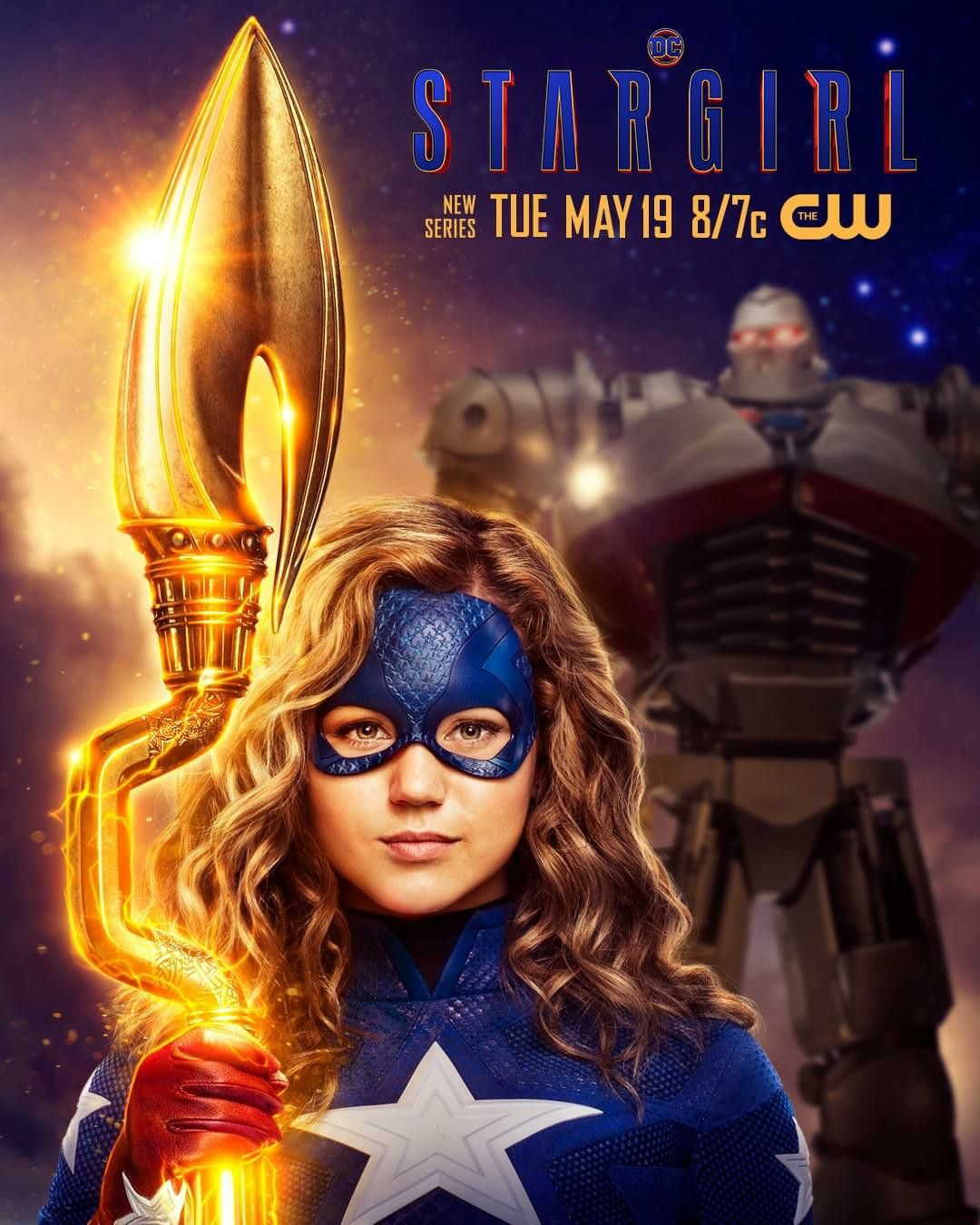 DCs Stargirl (The CW) First Look Preview HD - Brec